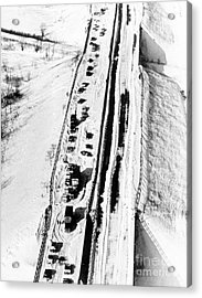 Chicago Blizzard, 1967 Acrylic Print by Science Source