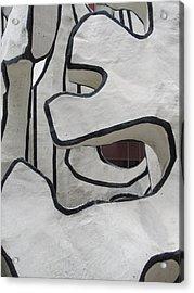 Chicago Dubuffet-1 Acrylic Print by Todd Sherlock