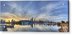 Chicago From Burnham Harbor Acrylic Print