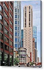 Chicago - Goodman Theatre Acrylic Print by Christine Till