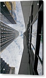 Chicago - Look Towards The Sky Acrylic Print by Christine Till