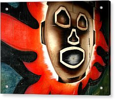 Chicago Mural Acrylic Print by Anthony Citro