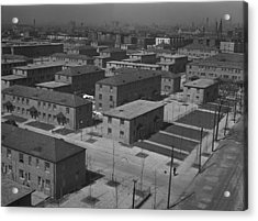 Chicagos Ida B. Wells Housing Project Acrylic Print by Everett