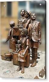 Children In Nazism Acrylic Print