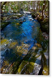 Childs Brook Wz 26 Acrylic Print