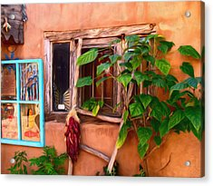Chilis Acrylic Print