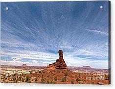 Chimney Rock Mind Set Acrylic Print by Scotts Scapes