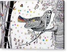 China Bird Acrylic Print