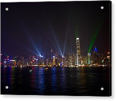 China-hong Kong Acrylic Print by Mark Simons Photography