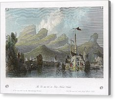 China: Mountains, 1843 Acrylic Print by Granger