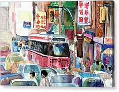 Chinatown Acrylic Print by Mike N