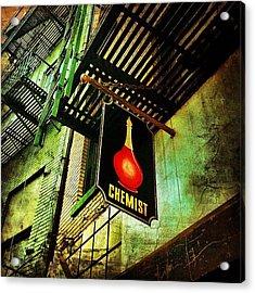 Chinatown Speakeasy. #nyc #manhattan Acrylic Print