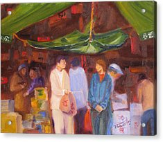 Chinatown  Vancouver Acrylic Print by Mohamed Hirji