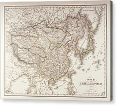 Chinese And Japanese Empires Acrylic Print by Fototeca Storica Nazionale