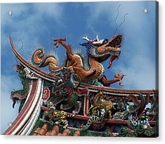 Chinese Dragon Acrylic Print by Steve Huang