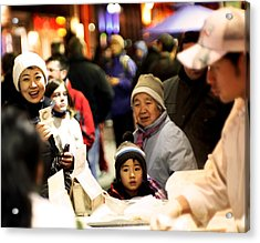 Acrylic Print featuring the photograph Chinese New Year by David Harding