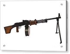 Chinese Type 56 Light Machine Gun Acrylic Print by Andrew Chittock