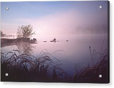 Chippewa River At Dawn Acrylic Print