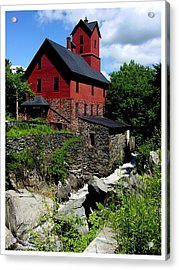 Chittenden Mill  Acrylic Print by Frank Wickham