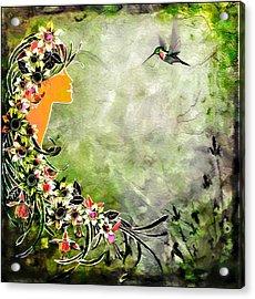 Chloris Acrylic Print