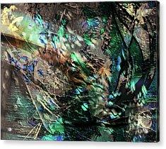 Chlorophyll Acrylic Print by Monroe Snook