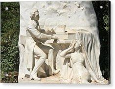 Chopin Monument II Acrylic Print