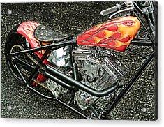 Chopper Acrylic Print by Mauro Celotti
