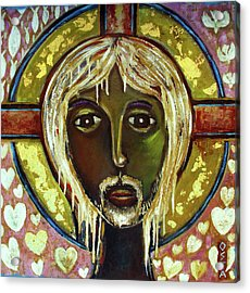 Christ Acrylic Print by Andrew Osta