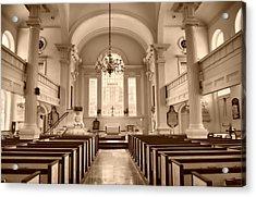 Christ Church  Acrylic Print by Thomas  MacPherson Jr