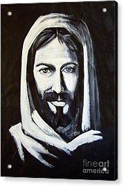 Christ Smiling Acrylic Print