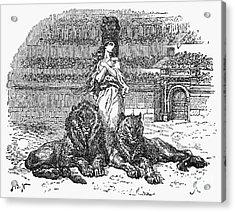 Christian Martyr Acrylic Print by Granger
