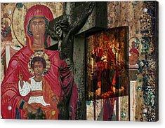 Christian Symbols Acrylic Print