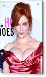 Christina Hendricks At Arrivals For I Acrylic Print by Everett
