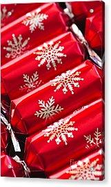 Christmas Crackers Acrylic Print by Elena Elisseeva