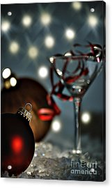 Christmas Party Acrylic Print by HD Connelly