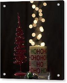 Christmas Still Life Acrylic Print
