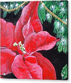 Christmas Time Acrylic Print by Melissa Torres