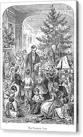 Christmas Tree, 1870 Acrylic Print by Granger