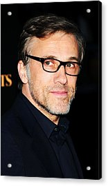 Christoph Waltz At Arrivals For Water Acrylic Print