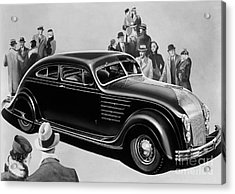 Chrysler Airflow Acrylic Print by Photo Researchers