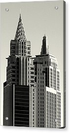 Chrysler And Empire Acrylic Print