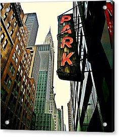 Chrysler Building Ny Acrylic Print
