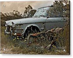 Chrysler Imperial Acrylic Print by Karen Lewis
