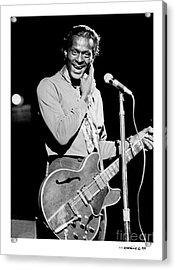 Chuck Berry 1 Acrylic Print