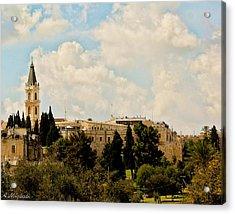 Church Acrylic Print by Amr Miqdadi