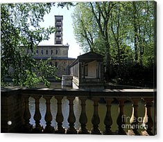 Church Of Peace. Sanssouci Acrylic Print by Tanya  Searcy