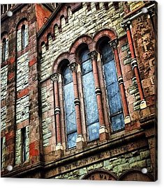 Church Of St. Luke & St. Matthew Acrylic Print