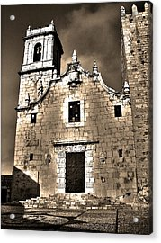 Church Of The Virgen De La Ermitana - Peniscola  Acrylic Print