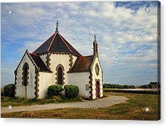 Acrylic Print featuring the photograph Church Off The Brittany Coast by Dave Mills