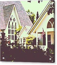 #church #old #unique #beautiful #ig Acrylic Print